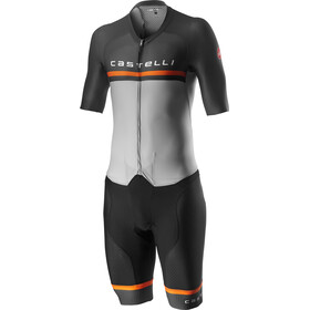 Castelli Sanremo 4.0 Speed Suit Herrer, silver/gray